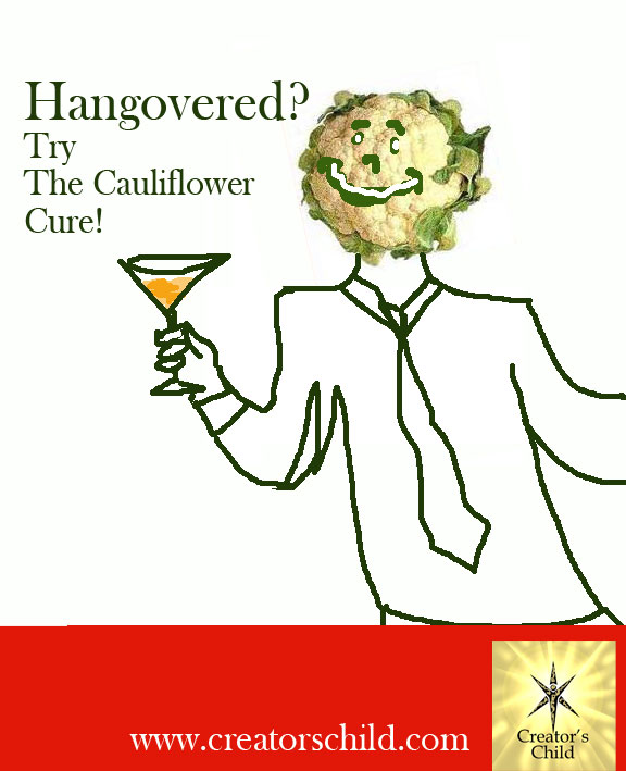 Cauliflower for hangovers